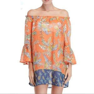 beachlunchlounge Pineapple Cover Up Dress